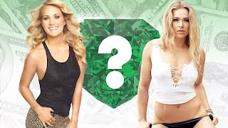 WHO'S RICHER? - Carrie Underwood or Ronda Rousey? - Net Worth Revealed!