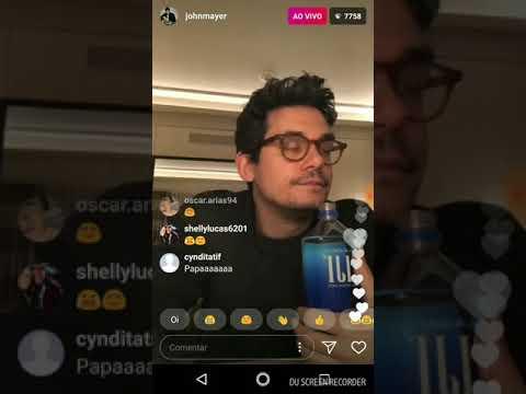 John Mayer(@johnmayer) on Instagram Live-January 6,2018