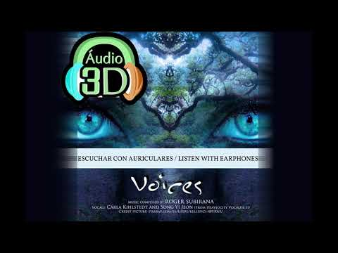 "Roger Subirana - ""Voices"" Binaural Version - REAL 3D MUSIC (8D)"