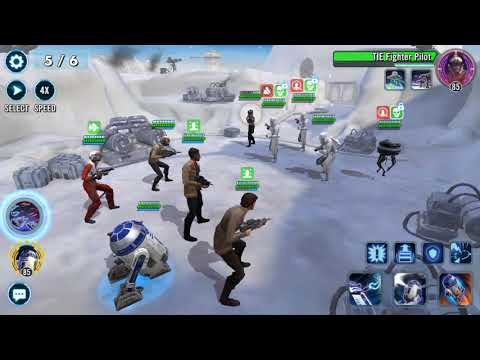 SWGOH - Best team for Territory Battles? Resistance in Territory Battles - Step-by-Step Guide