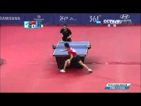Xu Xin Vs Jun Mizutani - 2014 Asian Games - Men's Team Table Tennis Semifinal