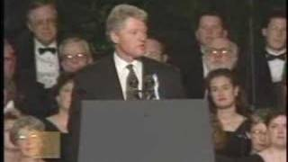 President Bill Clinton - Time for Healing Ceremony