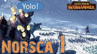 Lets Play Total War Warhammer -  Norsca (German | HD | Sehr schwer) #01