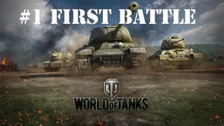 World of Tanks | #1 The First Battle