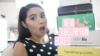 NEW SUBSCRIPTION BOXES | JULY 2017