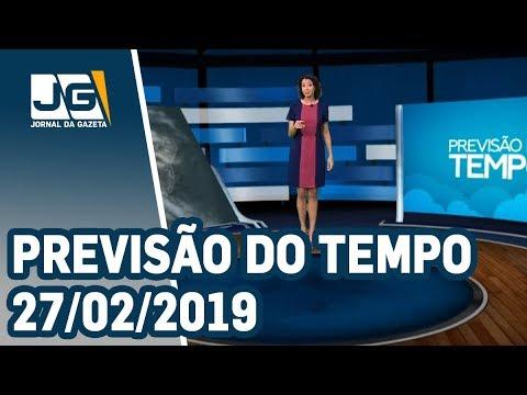 Previsão do Tempo - 27/02/2019 - YouTube