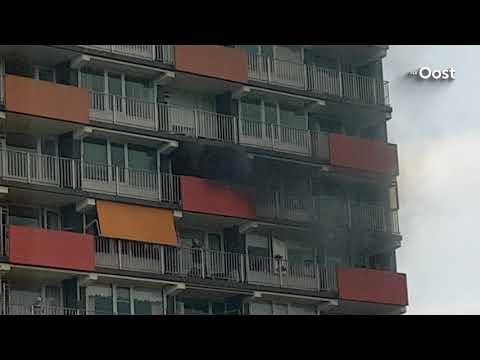 Brand in woonzorgcentrum Zwolle, gebouw ontruimd