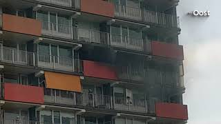 Woonzorgcentrum Zwolle ontruimd na brand