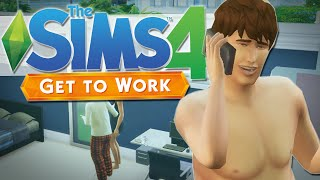The Sims 4 | PRANK CALLING THE GRIM REAPER!! | Get To Work #6