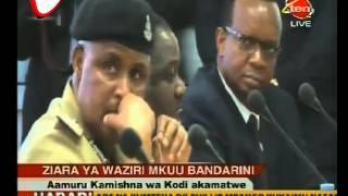 Waziri Mkuu Afanya Ziara ya Kushitukiza Bandarini