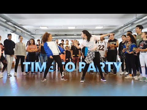 Flavour - Time To Party | Afro Dance Choreography