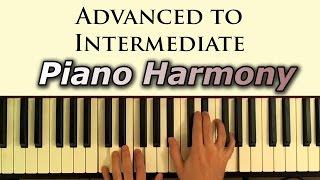 Intermediate-Advanced Piano Harmony Lesson