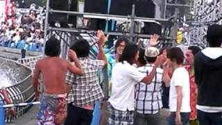 横浜開港祭のキマグレンの舞台裏.