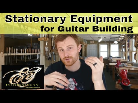 Stationary Equipment For Guitar Building