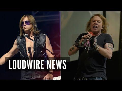 Former Guns N' Roses Member Sues Axl Rose