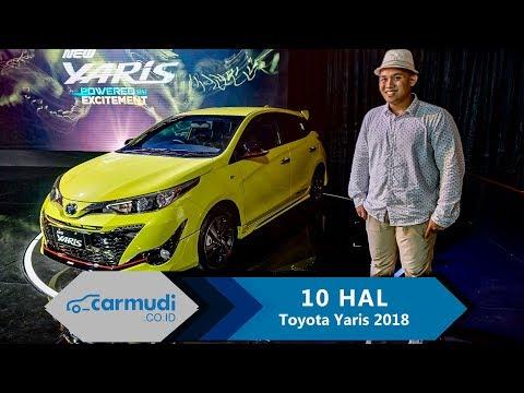 Toyota Yaris 2018 (Facelift) Indonesia - 10 HAL yang Perlu Diketahui