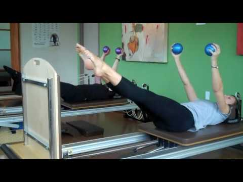 Pilates Reformer And Jumpboard Workout Youtube