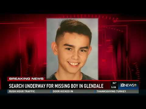 Search underway for missing Glendale boy