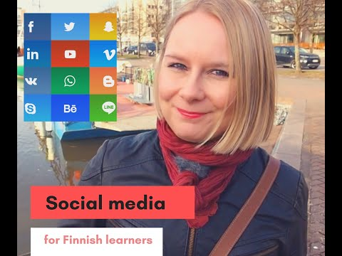 Social media for Finnish learners