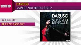 Daruso - Since You Been Gone (Rick M. Radio Edit)