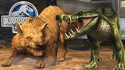 Jurassic World: Das Spiel #32 - Der KAPROSUCHUS & die LIVE ARENA LAND VS ERDNEUZEIT! | LP JW Deutsch