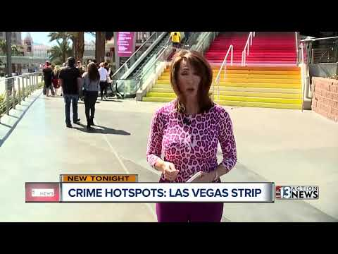 Top 10 Crime Hot Spots On The Las Vegas Strip