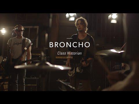 "Broncho ""Class Historian"" At Guitar Center"