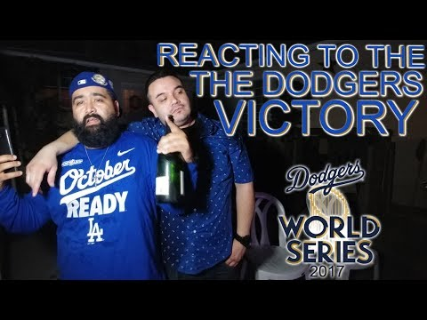 OUR REACTION TO THE LOS ANGELES DODGERS WINNING THE NLCS