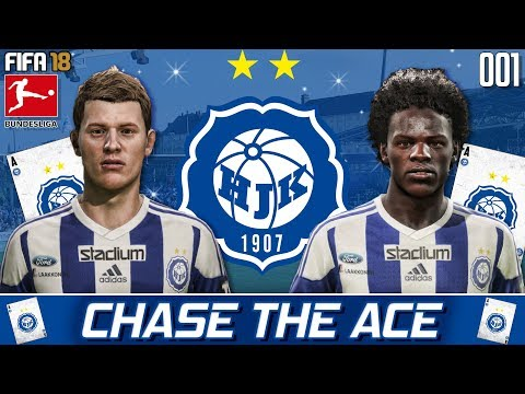 LET THE FUN BEGIN! - Chase the Ace - HJK Helsinki - Fifa 18 Career Mode - Ep 1