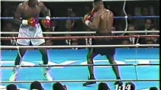 37.Mike Tyson - James Douglas