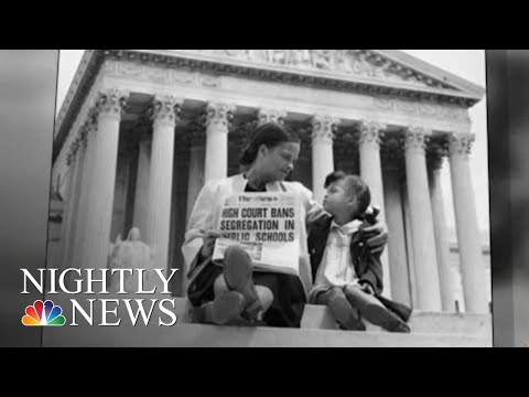 65th Anniversary Of Brown Vs Board Of Education  NBC Nightly News