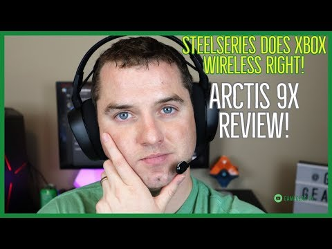 SteelSeries Arctis 9x Direct Connect Wireless Headset for Xbox One Review!