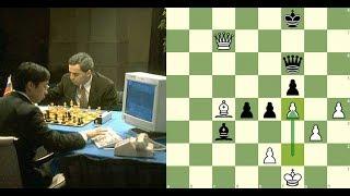 Em fevereiro de 1996, o campeão do mundo de xadrez, Garry Kasparov,...
