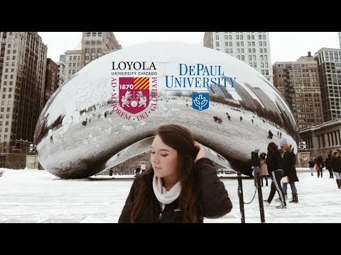 WEEKEND IN CHICAGO | College Tours (Loyola Chicago & DePaul)