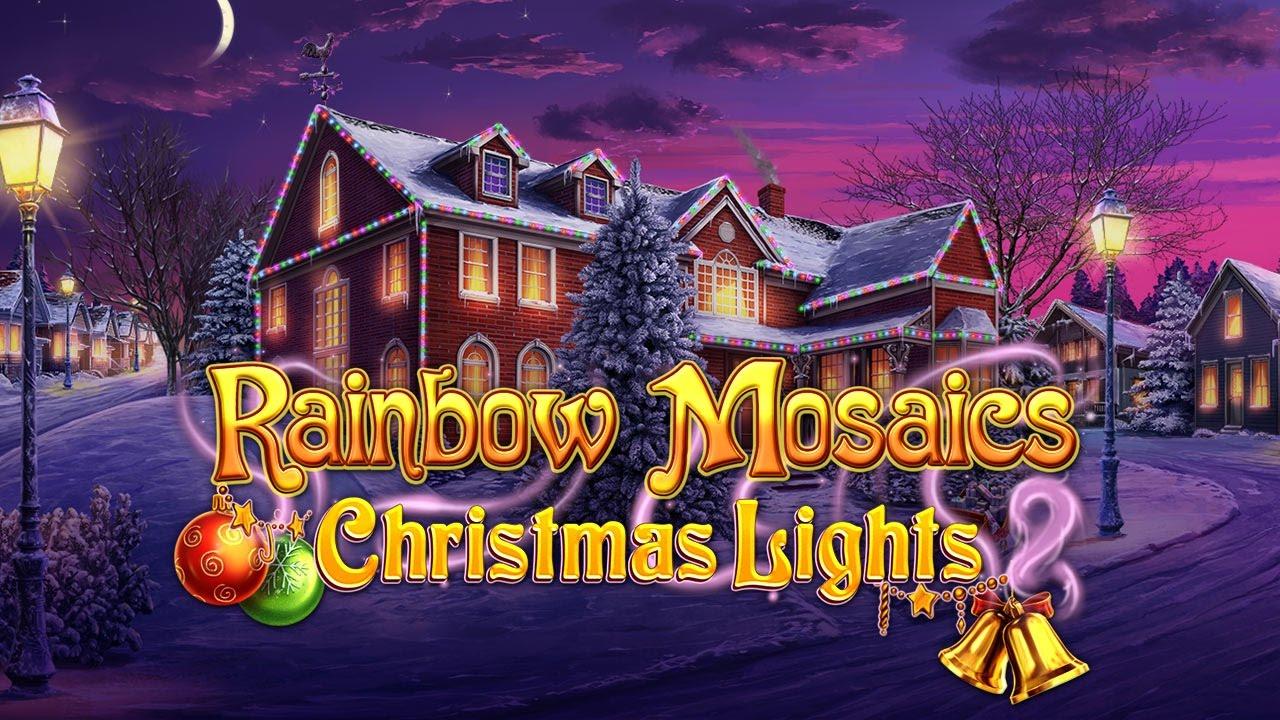 Rainbow Mosaics: Christmas Lights 2 - YouTube