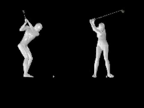 Model Golf Swing paired with Tour Tempo 24/8