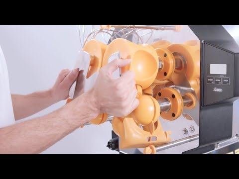 Speed S +plus commercial juicer | Disassembly and cleaning