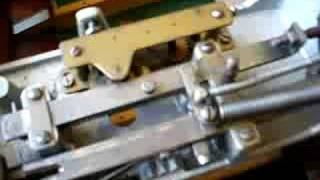 Clockwork Mechanism On Bar Billiards Table