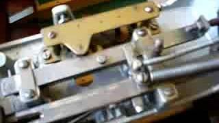 Clockwork Mechanism On Bar Billiards Table