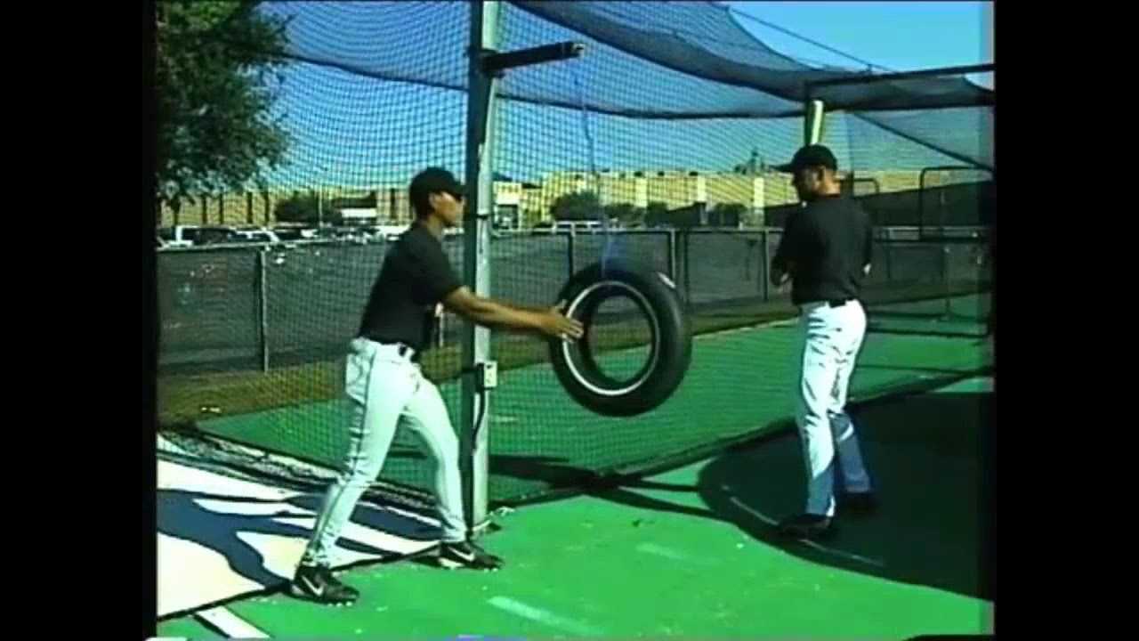 Tire Drills For Bat Speed Strength Youtube