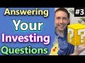 Dividend Investing: Answering Your Dividend Investing Questions! (Dividend Income Growth Journey)