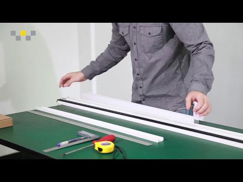 How To Cut and Install: DIY RETRACTABLE SCREEN DOOR