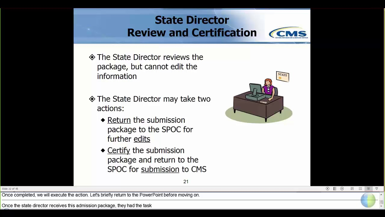 Pt 4 package review certification and submission to cms spoc pt 4 package review certification and submission to cms spoc sdir 1betcityfo Image collections