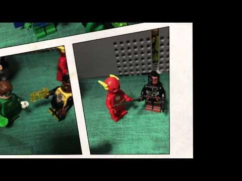 Justice League Unlimited minifigures