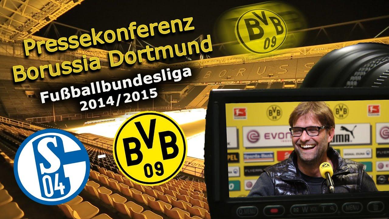 FC Schalke 04 - Borussia Dortmund : BVB-Pressekonferenz zum 145. Revierderby