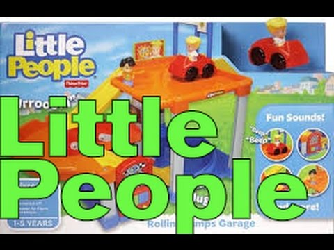 Little people rollin 39 ramps garage unboxing youtube for Garage a persan