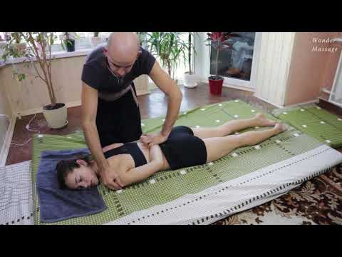 Thai massage (elements of technique). Stretching massage