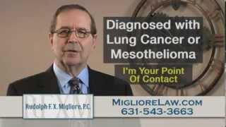 Asbestos Lung Cancer & Mesothelioma