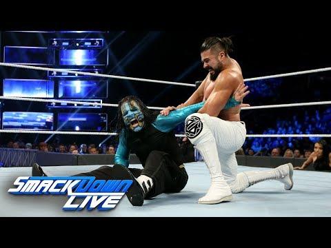 """Jeff Hardy vs. Andrade """"Cien"""" Almas: SmackDown LIVE, Nov. 13, 2018"""