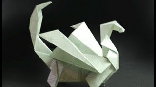 Origami Dragon Instructions: www.Origami-Fun.com